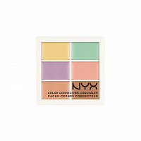 Палитра корректоров NYX Color Correcting Concealer 6 оттенков