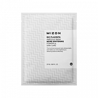 Маска осветляющая с экстрактом плаценты Mizon Bio Placenta Ampoule Mask 27ml