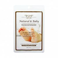 Пилинг для ног Anskin Natural Baby Foot Peeling Mask 40ml